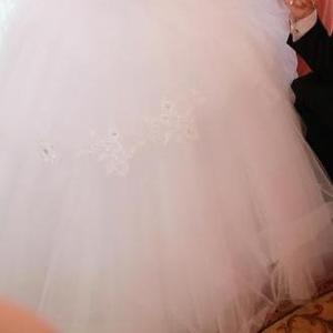 Продам свадебное платье очень пышное