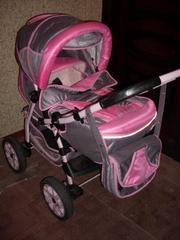 коляска adamex gustaw 2+детский комбинезон в подарок